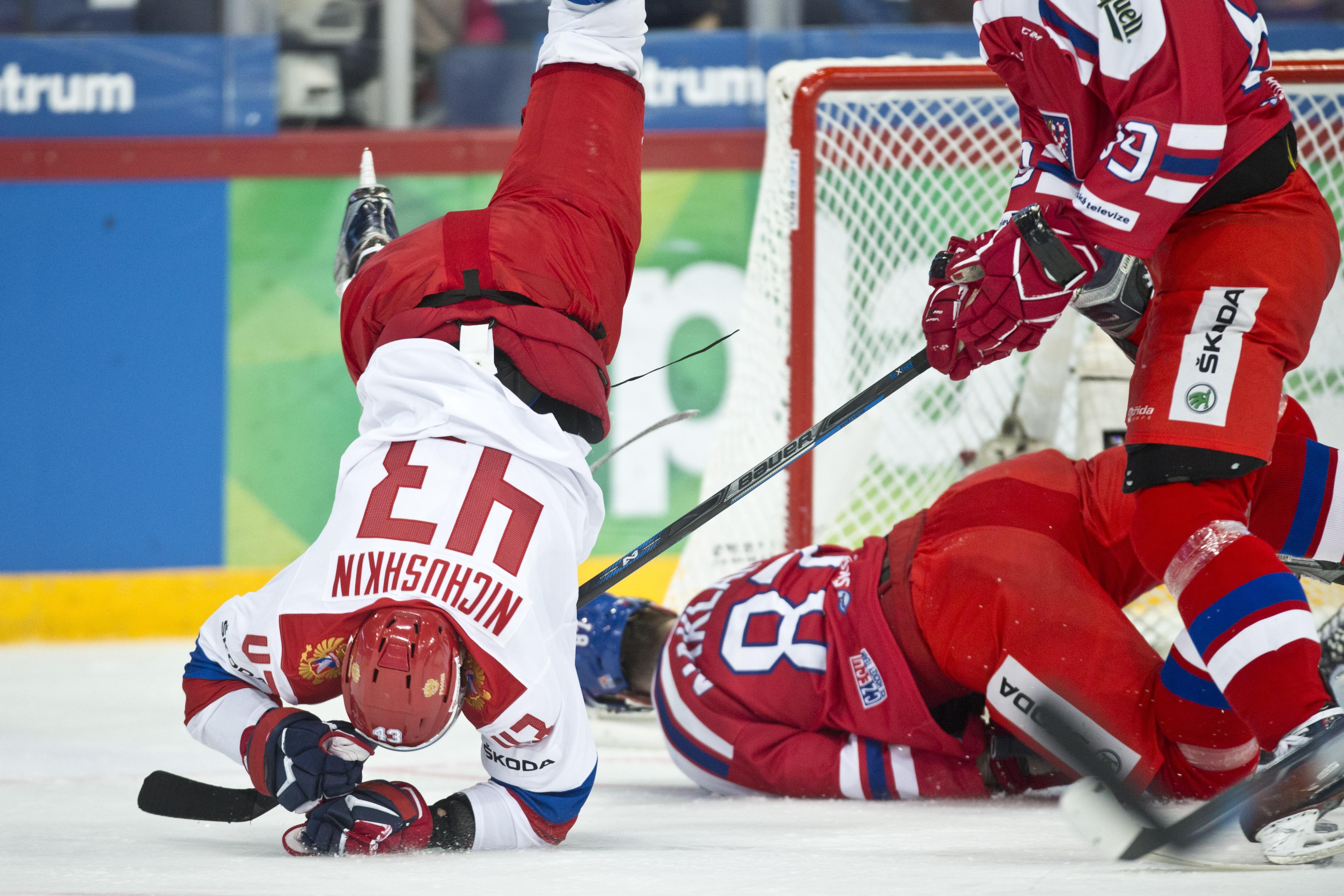 Icehockey Karjala tournament Russia - Czech