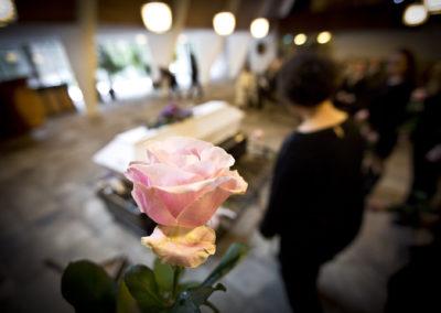Elsa Mummin hautajaiset 18.3.2017. Honkanummen hautausmaa, Vantaa.