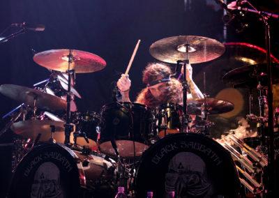 Rumpali Tommy Clufetos, Black Sabbath 20.11.2013. Hartwall Areena, Helsinki.