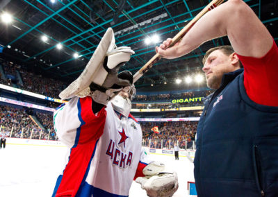 Stanislav Galimov KHL liigan jääkiekko-ottelussa, Jokerit vs. TsSKA 16.3.2015. Hartwall arena, Helsinki.