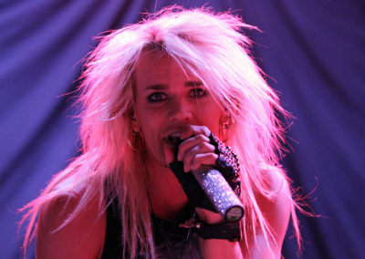 Olli Herman Reckless Love-bändistä esiintyi Kissin lämppärinä 3.6.2013. Hartwall Areena, Helsinnki.