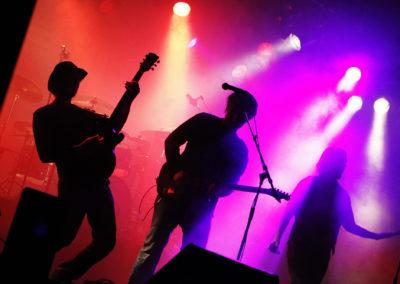 Kinetic esiintyi Hulluporo Rockissa 13.2.2011. Levi.
