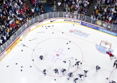 Kasperi Kapanen ratkaisee U20 maailmanmestaruuden jatkoajalla finaalissa RUS vs. FIN 5.1.2016. Hartwall Areena, Helsinki
