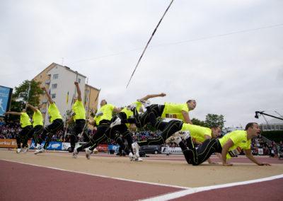 Tero Pitkämäki Paavo Nurmi Games 2015, yleisurheilu 25.6.2015, klo 20:52:18. Paavonurmi Stadion, Turku