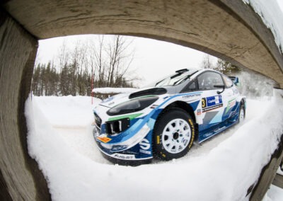 Teemu Suninen / Mikko Markkula, Ford Fiesta WRC EK1 Sarriojärvi 1 Arctic Rally Finland, MM-ralli Rovaniemi 26.2.2021.