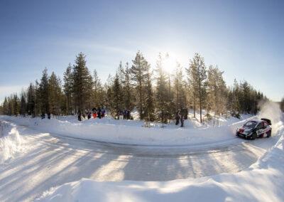 Kalle Rovanperä / Jonne Halttunen Arctic Rally Finlandissa 28.2.2021.